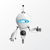 Холодная иллюстрация робота Стоковые Изображения