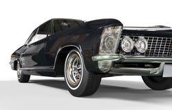 Холодная классическая съемка фары автомобиля Стоковая Фотография RF