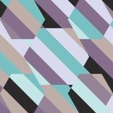 Холодная предпосылка дизайна нашивки голубого коричневого цвета фиолетовая Стоковое фото RF