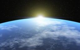 Холодная планета Стоковые Изображения RF