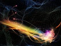 холодная технология иллюстрация вектора