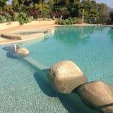 Холодная чистая солёная вода Стоковые Изображения RF