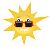 Холодное лето Солнце Стоковые Фотографии RF