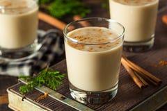 Холодное освежая питье Eggnog Стоковое Изображение RF