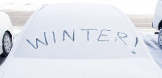 Холодное снаружи. Стоковое фото RF