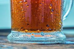 холодное стекло заморозило чай Стоковые Фотографии RF