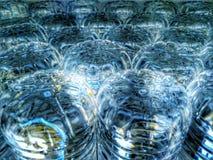 Холодные бутылки с водой Стоковые Фотографии RF