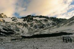 Холодные горы Стоковое Изображение