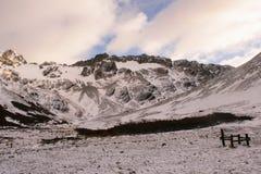 Холодные горы Стоковое Изображение RF