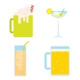 Холодные напитки Стоковые Фото