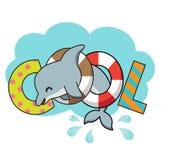 Холодный дельфин Стоковая Фотография