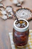 Холодный замороженный кофе эспрессо Стоковые Изображения