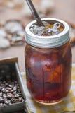 Холодный замороженный кофе эспрессо Стоковое фото RF