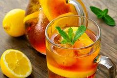 холодный замороженный чай Стоковая Фотография RF