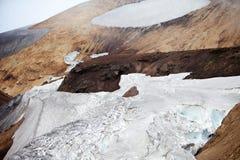Холодный исландский ландшафт - Laugavegur, Исландия Стоковые Изображения