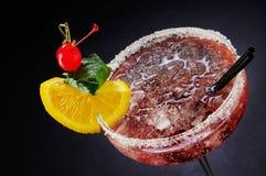 Холодный коктеиль в стекле стоковое изображение rf