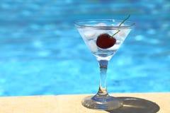 Холодный коктеиль с кубами льда Стоковые Изображения RF