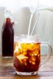 Холодный кофе Стоковая Фотография