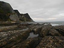 холодный океан Стоковое Изображение