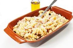 Холодный салат макаронных изделий Стоковые Фотографии RF