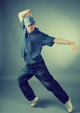 холодный хмель вальмы танцора смотря представляющ тип Стоковые Фотографии RF