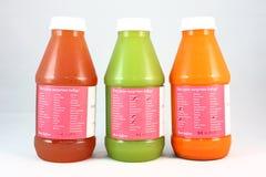 Холодн-отжатый сок стоковое изображение rf