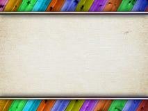Холстина и деревянные планки иллюстрация штока