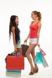 2 ходя по магазинам студента Стоковая Фотография RF