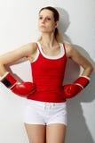 храбрейшая девушка Стоковая Фотография RF