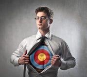 храбрейший бизнесмен стоковое изображение