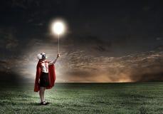 Храбрый superkid Стоковое Изображение RF