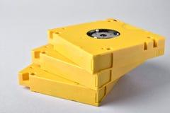 Хранение данных 3 магнитных лент LTO-10 стоковое фото
