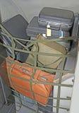 Хранение багажа в старом самолете Стоковое Изображение