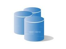 хранение базы данных Стоковое Изображение