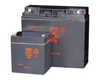 хранение батарей Стоковые Изображения RF
