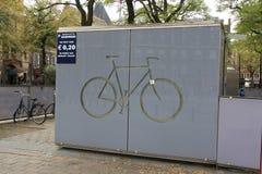 хранение велосипеда Стоковая Фотография