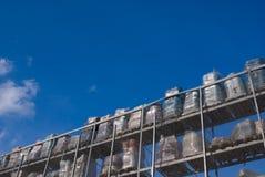 хранение воздуха открытое Стоковая Фотография RF