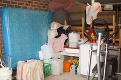 Хранение гаража стоковые изображения rf