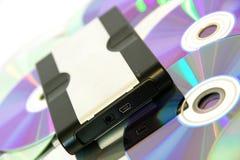 хранение диска трудное Стоковое Фото