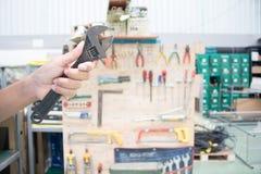 Хранение инструмента доски, набор хранения инструмента Handmade Стоковые Фото