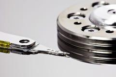 хранение макроса дисковода крупного плана трудное Стоковые Изображения