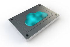 Хранение облака Стоковые Изображения