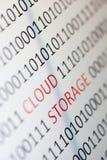 Хранение облака стоковая фотография