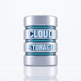 Хранение облака Стоковое Изображение