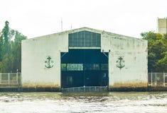 Хранение лодки военно-морского флота доступное Стоковое Изображение
