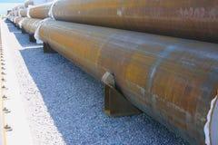 хранение продуктов труб зоны законченное Стоковая Фотография RF