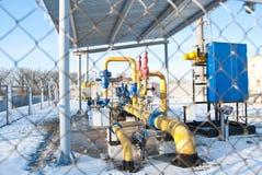 хранение рафинадного завода газа фабрики подземное Стоковые Изображения RF