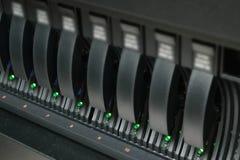 Хранение сервера и рейда Стоковые Изображения