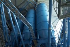 Хранение силосохранилищ башни навальное Стоковая Фотография RF