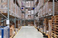 Хранение склада Стоковое Изображение
